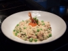 Risotto of Prawns, Peas, Pancetta and Chervil